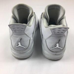 927ae51865422d Jordan Shoes - Jordan 4 IV 2017 white silver pure money Sz 13